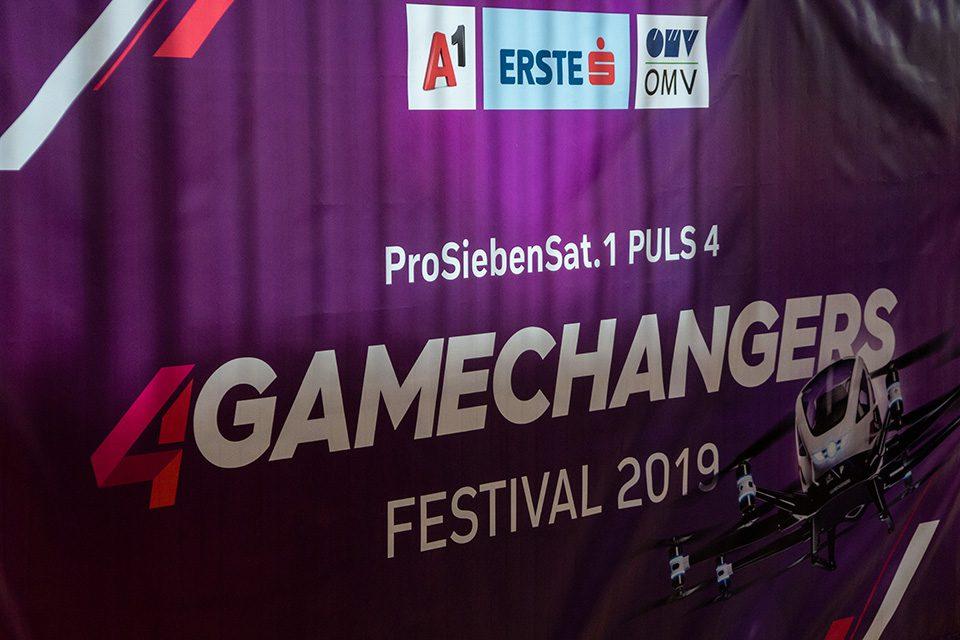 VARIOCUBE auch dieses Jahr wieder auf dem 4Gamechangers 2019 Festival