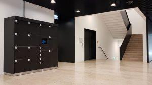Smarte Schließfachanlage für Wohnhäuser