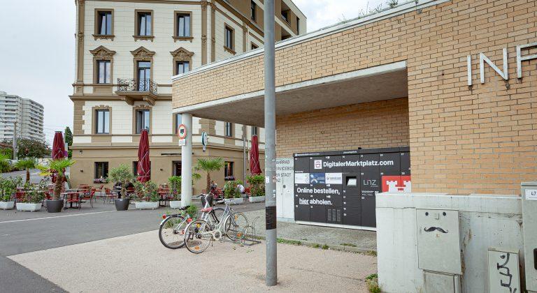 Digitaler Markplatz, Linz Urfahr, Jahrmarktgelände