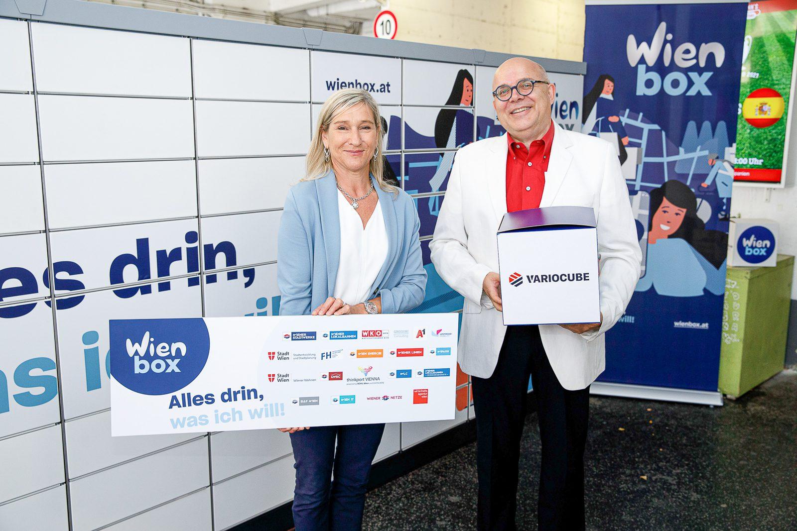 Variocube ist WienBox-Partner!