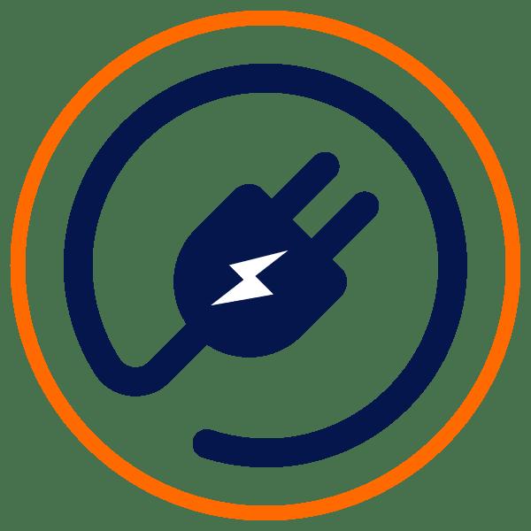 Icon Stromversorgung